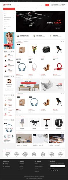 SiteShop - Online Shopping Trade Template is a good choice for selling #Fashion,#Electronics, #Art, #webibazaar #webiarch #Bicycle, #Furniture, #design #template #flower #kidswear #Cake #Furniture #Flower #Food #appliances #bag #ceramic #cosmetic #fashion #flower #coffee #undergarments #home #bodysuits #typography #beachwear #WebsiteShoppingCart #lingerie #eCommerce #jewellery #organic #pet-store #power-tool #resturant #shoes #watch
