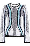 Peter Pilotto  Contrast-knit cotton sweater