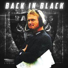 "Jon Gruden aka ""Chucky"" - head coach of the Oakland Raiders Raiders Stuff, Oakland Raiders Football, Raiders Baby, Nfl Oakland Raiders, Football Boys, Football Memes, Football Stuff, Funny Football Pictures, Raiders Tattoos"