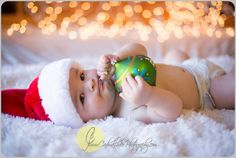 Christmas pictures! Christmas Lights! Love!  Baby's first Christmas! Holiday Card! Christmas Ornament!