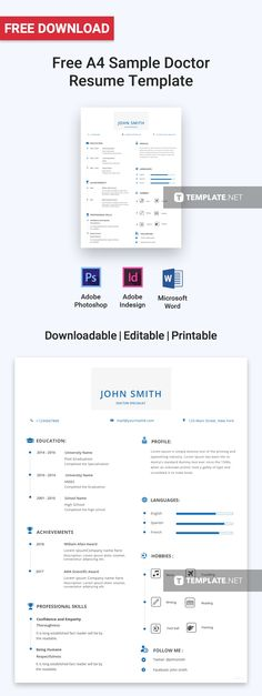 Free Network Engineer Resume Template and Cv template