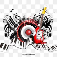 Music Pics, Music Artwork, Music Images, Dj Music, Music Notes, Music Border, Music Background, Musica Disco, Sketch Tattoo Design
