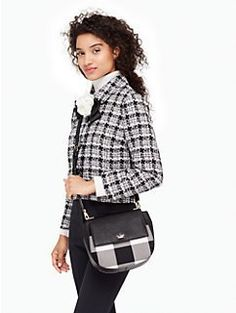 cameron street plaid byrdie by kate spade new york