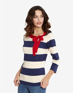 LAINEY Womens Striped Jumper. Joules UK