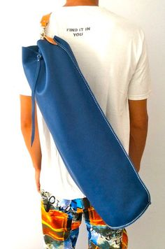 Yoga mat bag / Pilates Mat Bag por proyecto54 en Etsy