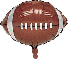 Your decorations will score a touchdown when you add this Football Mylar Balloon to your football or Fantasy Football party decorations.