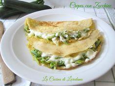 Crepes con Zucchine | La Cucina di Loredana