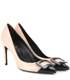 mytheresa.com - Privilege New Buckle leather pumps - Current week - New Arrivals - Luxury Fashion for Women / Designer clothing, shoes, bags