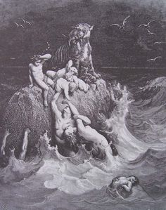 The DELUGE Gustave Doré