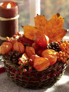 Fruchtige Herbstdeko