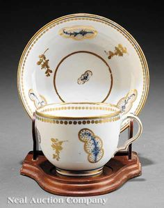 A Meissen Porcelain Cup and Saucer early