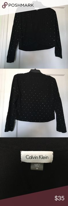 Dressy Comfy Sweater- Calvin Klein Perfect sweater for a nice occasion in great condition Calvin Klein Sweaters