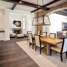 Gustav Gray flooring in Dallas residence.