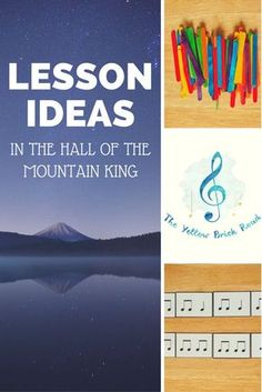 This is a great listening lesson idea for the elementary music classroom using In the Hall of the Mountain King. It even comes with a free download for rhythm cards!