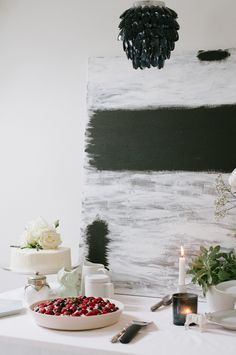 Black and white Danish baby shower   Tina Fussell   100 Layer Cakelet