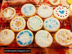 receita biscoitos de baunilha tema dia dos pais