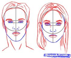 How to draw faces - Site