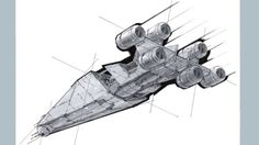 How to Draw a Spaceship - a video tutorial from Mechanika Revised and Updated by Doug Chiang