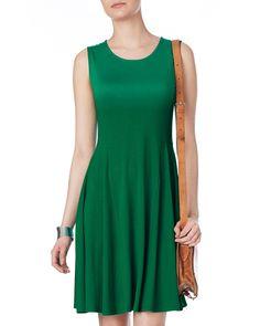 Dresses | Green Rose Swing Dress | Phase Eight