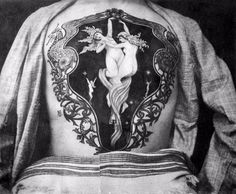Tatted Up in Victorian Times: Fascinating Photos Show the Work of Sutherland Macdonald, One of the First British Tattoo Artists ~ vintage everyday William Adolphe Bouguereau, Victorian Tattoo, Victorian Era, Incredible Tattoos, Beautiful Tattoos, Unique Tattoos, First Tattoo, Tattoo You, British Tattoo