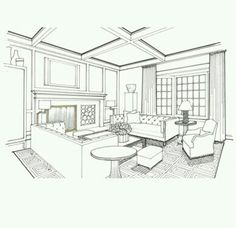 Sketch Interior Design Jannine Stone Interior Design  Interior Design  Pinterest .