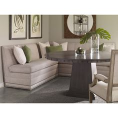 Vanguard Furniture Olmstead Armless Dining Banquette W754-55 - this is stunning!