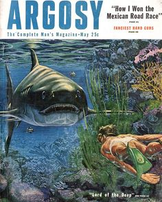 Argosy, May 1953 - painting by Fred Freeman