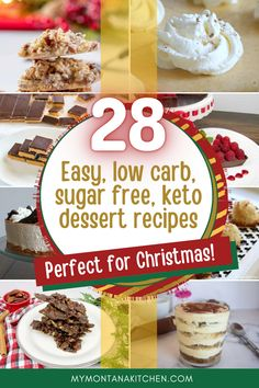 If Sugar Free Desserts are on your agenda this Christmas season, you've come to the right place. These sugar free dessert recipes are super easy, and many of them are no-bake and can be made ahead of time! #sugarfreedessert #christmas #christmasdesserts #keto #ketochristmas #lowcarb #sugarfree Baked Chocolate Pudding, Healthy Chocolate, Low Carb Peanut Butter, Peanut Butter Cheesecake, Sugar Free Cookies, Sugar Free Desserts, Low Carb Snacks List, Keto Recipes, Dessert Recipes