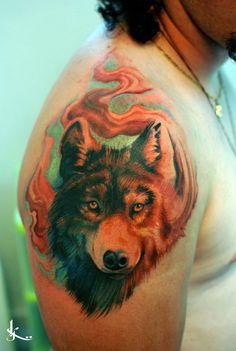 55 Wolf Tattoo Designs | Showcase of Art & Design