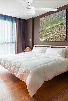 Ventilador de techo blanco PANAY - La Casa de la Lámpara