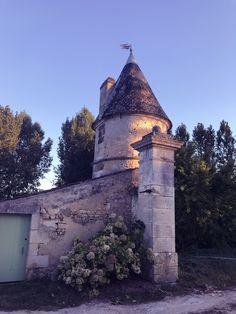 The turreted dove cote at Domaine De La Salle which hosts my sewing events Mollie Makes, White Cottage, French Chateau, Awards, Workshop, Events, Sewing, Antiques, Building