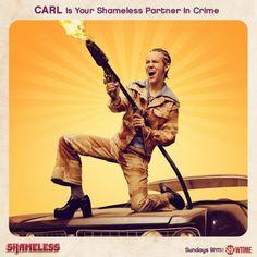 Shameless Showtime carl