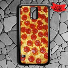 Pepperoni Pizza Samsung Galaxy S5 Black Case