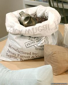 This small, hourglass-shaped pillow, filled with buckwheat hulls, offers just the right amount of support for your neck while reading in bed. Stylist Cindy Treen advises when buying buckwheat, perform a simple test to determine if the hulls are clean: Slide your hand into the container; if it's clean when you remove it the hulls are suitable for use.