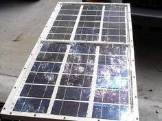 Como hacer un panel solar casero de 60w