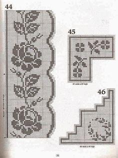 Kira crochet: Scheme no. 101