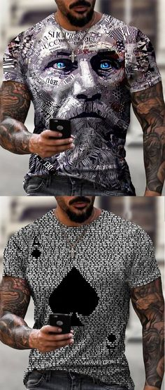 Stylish Mens Outfits, Cool Outfits, Casual Outfits, Men Casual, Mens Fashion Wear, Fashion Outfits, Mens Printed T Shirts, Gentlemen Wear, Outdoor Outfit