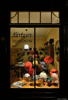 The ladies hat shop.