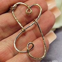 Treasured Hearts Charm Holder Pendant