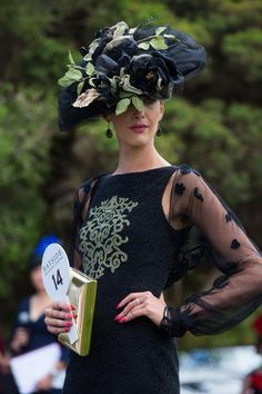 Racing Fashion - Home Races Style, Races Fashion, Race Day, Couture Fashion, The Incredibles, Racing, Beauty, Hat, Cat Breeds