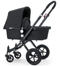 Bugaboo Cameleon The queen bee of all high-end, urban strollers, the Cameleon has a trendy design and cool features like a suspension system, an adjustable handlebar and a variety of color combinations to choose from. The catch: It doesn't come cheap. But the fact that it serves so many different functions -- newborn carriage, car-seat stroller, toddler stroller, beach walker and carry-cot -- might just make it worth the splurge. $880, Bugaboo.com