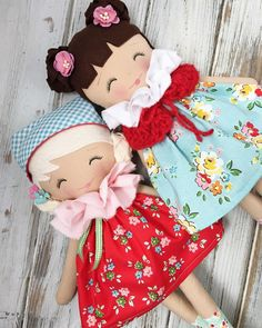 Have a lovely day! ❤️ #spuncandydolls #handmaderagdolls #handmadedolls #clothdolls #fabricdolls #dollmaker #comingsoon #vintagemarketcollection
