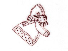 RedWork Christmas Country Angels Machine Embroidery Designs  http://www.designsbysick.com/details/rwchcountryangels