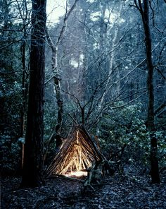 secret refuge. This would be fun to do with kiddos one day. Teach them to love the woods!