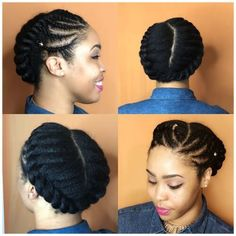 15 easy protective styles you can do even if you suck at hair hair 45 geniale flat twist frisuren solutioingenieria Gallery