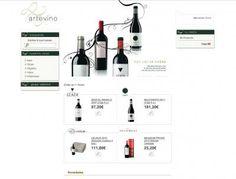 Tienda Arte Vino. Bodegas Izadi. www.tiendaartevino.com #web #ecommerce #vino