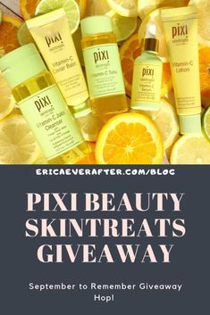Pixi Beauty Vitamin C SkinTreats Giveaway September to Remember Giveaway Hop! – Enter for a chance to win budget friendly skin care from Pixi Beauty Pixi Beauty Vitamin C SkinTreats Giveaway September to Remember Giveaway Hop! – Enter for a Vitamin C Benefits, Health Benefits, Beauty Vitamins, Drugstore Skincare, Skin Makeup, Body Makeup, Free Makeup, Skin Brightening, Beauty Skin