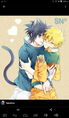Read Its Sasuke! Naruto sat on his couch gently petting Sasuke and hummin. Naruto Vs Sasuke, Anime Naruto, Comic Naruto, Naruto Cute, Naruto Shippuden Anime, Sakura And Sasuke, Sasunaru, Narusasu, Animes Yandere
