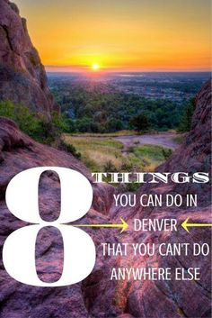The Mile High City is known for that (literally and figuratively), but there are plenty of other unique Denver Activities for you to experience | Things That You Can Do In Denver That You Can't Do Anywhere Else | Colorado Travel Tips | Unusual Things To Do In Denver | What To See In Denver | Fun Things To Do In Denver | USA Travel Itinerary | Weekend In Denver Tips | Guide To Denver