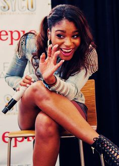 Normani Kordei Hamilton from Fifth Harmony